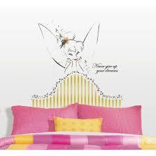 disney fairies tinkerbell headboard 7 piece l