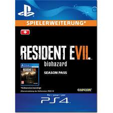 Resident Evil 7 Biohazard Season Pass Ps4