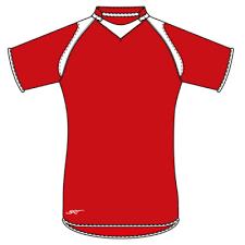 brt pakari rugby jersey red white size 7 to 8