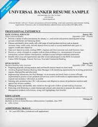 universal banker resume universal banker resume resume samples across all industries