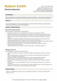 Electrician Apprentice Resume Samples Electrical Apprentice Resume Samples Qwikresume