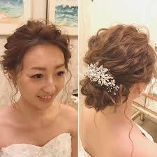 お顔スッキリおでこを出したい花嫁さん向けのオシャレで可愛い前髪