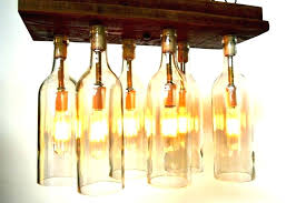 wine bottle chandelier outstanding pottery barn chandeliers how to make home improvement