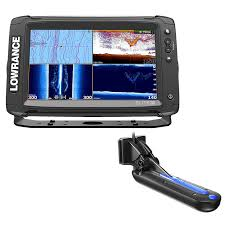 Lowrance Elite 7 Hdi Chart Maps Lowrance Elite 9 Ti Chartplotter Fishfinder W Totalscan Transom Mount Transducer Insight Pro By C Map Chart