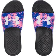 under armour sandals for girls. under-armour-girl-039-s-ua-strike-floral- under armour sandals for girls o