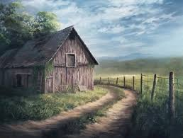 barn by the road oil painting by kevin hill watch short oil painting lessons