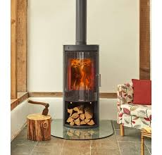 opus melody g defra 5kw wood burning stove with log glass door direct stoves
