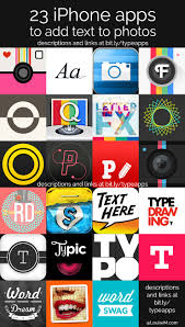 looking for iphone apps to add text to photos it s the hottest thing in visual