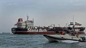 port company color chart seized uk flagged tanker stena impero leaves iranian port