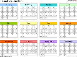 Calendar Maker Creator For Word And Excel Template Microsoft 2010