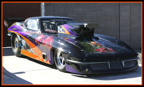 wannabe racing cannot take full credit for this paint job on randy s 1966 corvette however when the car lost control and climbed the wall in phoenix