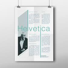 Graphic Designer Adalah Newsletter Design Helvetica On Behance