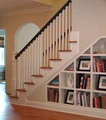 View in gallery White Home Staircase Bookshelf