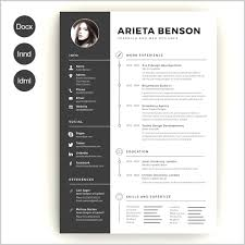 Fresh Idea To Creative Resume Template Download Free Collection Of