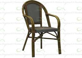 commercial outdoor dining furniture. Outdoor Dining Chairs Commercial Furniture Bamboo \u0026 Textilene Mesh Chair