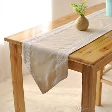 bz381 decorative elegant lace table runner cotton lace coffee table flag home decoration cloth vintage design lace table cloth runners table linen from