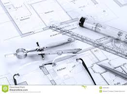 architectural plans drawing equipment stock photo image architectural plans drawing equipment