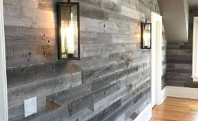 reclaimed weathered wood walls compliments and woods wall boards weaber home depot painting paneling