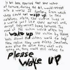 wake up scary story scary website wake up