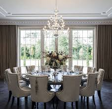 gorgeous dining room tables. furze croft in weybridge, surrey. acres neo-palladian mansion by consero london. the dining room seats 18 people and is perfect for dinner parties. gorgeous tables a