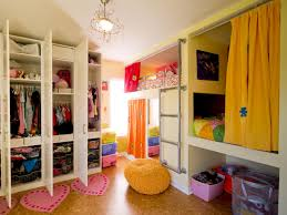 Small Shared Bedroom How To Divide A Shared Kids 39 Room Hgtv Shared Kids Bedroom Ideas