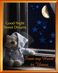 good night sweet dreams card