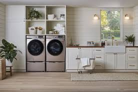 Interior Laundry Room Design Samsung Reimagines The Laundry Room With Appliances That