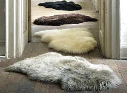 real sheepskin rug how to wash baby 2