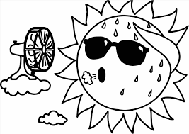 Small Picture Best Sun Coloring Page Images About Sun Moon And Stars Coloring On