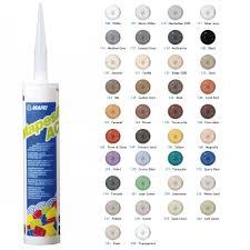 Mapesil Sealant Colour Chart Mapei Mapesil Silicone Ac