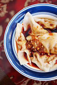the homemade dumplings with spicy chili oil are a favorite appetizer at szechuan garden in morrisville