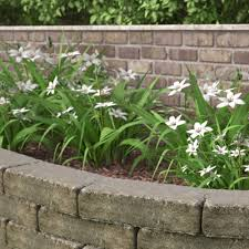 Backyard Retaining Wall Designs Inspiration Landscaping Supplies At The Home Depot