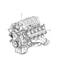 2009 jeep grand cherokee engine assembly identification service diagram i2312473