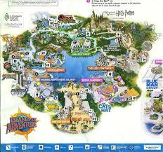 park universal orlando map  universal orlando randomness
