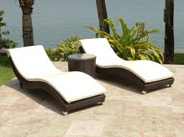 chaise lounge for outdoor patio source outdoor wave 3 piece wicker chaise lounge set rst