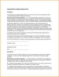 Sample Non Compete Agreement Template Sample Non Compete Agreement Recent Depict Texas Best Of Cruzrich 1