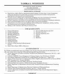 Proposal Manager Resume Example Northrop Grumman Aerospace