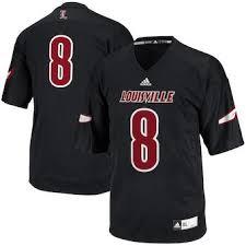 shop Daniel Men's Louisville Jersey On Jackson Cardinals Football 8 Lamar Black Artfire