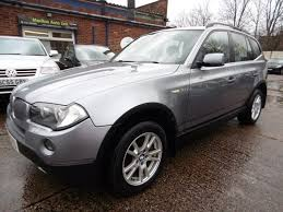 BMW X3 3.0d SE (PARKING SENSORS + STUNNING) (grey) 2006