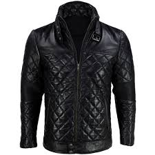 Jackets - Mens |SouthBeachLeather| & Mens Quilted Designer Racer Motorcycle Leather Jacket Adamdwight.com