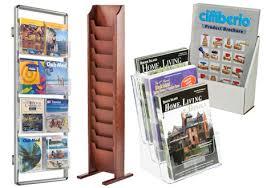 literature display racks for s