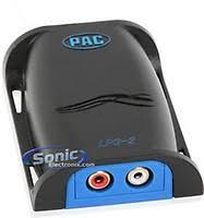 pac lc2 dash mountable line output converter level control knob pac lp3 2pac