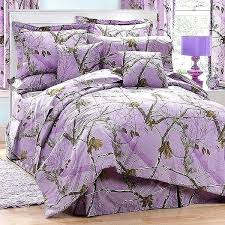 Camo Bed Sets Lavender Camouflage Comforter Set Twin Size Military ...