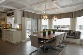 dining room tile flooring. marvelous valance curtains in dining room traditional with herringbone pattern next to alongside tile flooring o