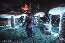 giant diy illuminated mushrooms installation rania t 1