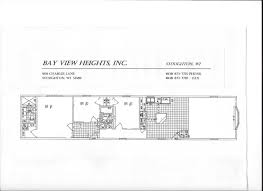 single wide mobile home floor plans 3 bedroom rated