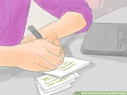 how to write a cause and effect essay pictures wikihow image titled create good study habits for exams step 10