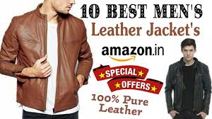 10 best 100 pure leather jackets for men s on in best men s leather jacket