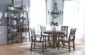 grey round kitchen table rustic round weathered gray dining table with extension leaf by gray round grey round kitchen table