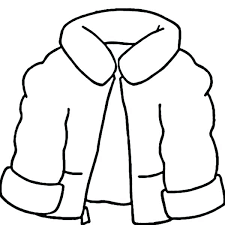 winter clothes coloring page coat for clothing sun sheets winter clothes coloring page